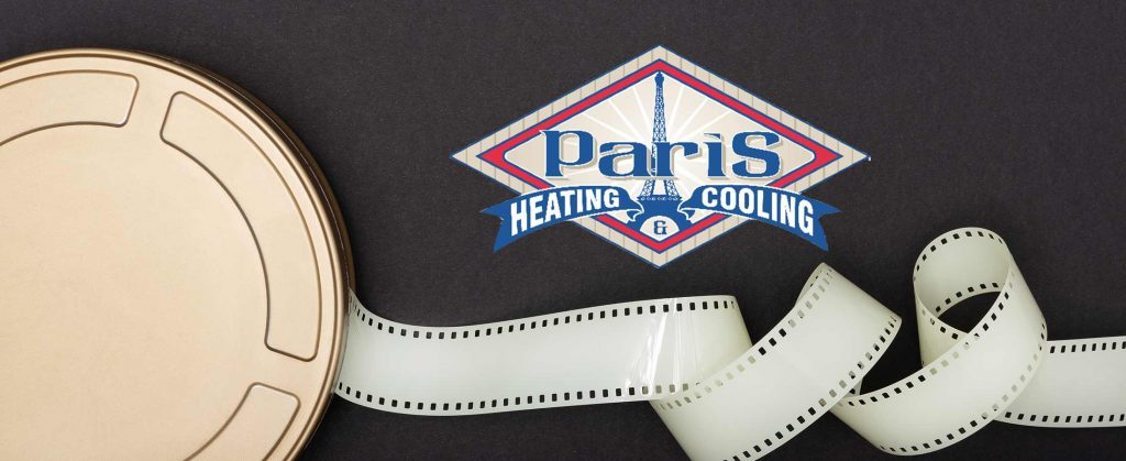 media real with filmstrip for Paris Heating & Cooling